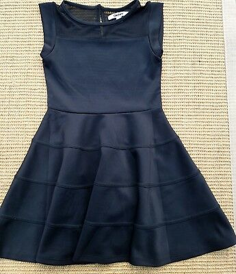 Absolutely Gorgeous DKNY Girls Black Dress Size Small Stylish