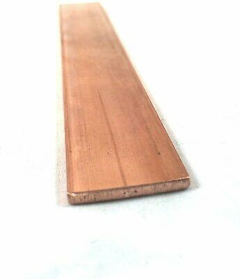 Copper Flat Bar Stock 18 X 1 X 6- Knife Making Hobby Craft C110-1 Bar