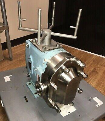 Waukesha 045u2 Rotary Positive Displacement Pump