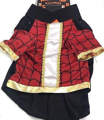 Pet Halloween (Dog Pet Halloween Vampire Outfit Costume New)