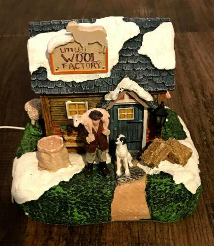 Luville Originals Molendam Little Wool Factory Light Up Village Piece