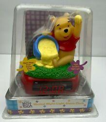 Disney's Winnie the Pooh Musical Night-Light Alarm Clock