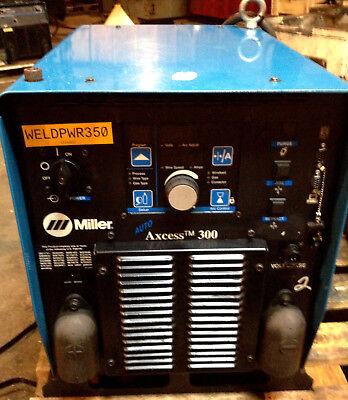 Miller Auto Axcess 300 Volts 23040460575 Three Ph Robotic Mig Arc Welder