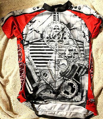 Primal Wear Cycling Jersey gear design Mens Short Sleeve Size XL