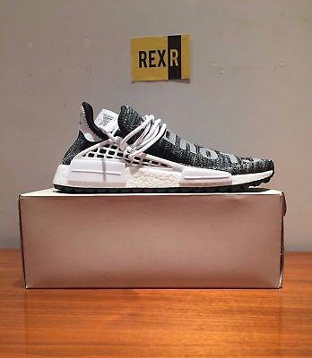 Adidas Pharrell Human Race HU NMD Trail Oreo Black White AC7359 UK 7 US 7.5