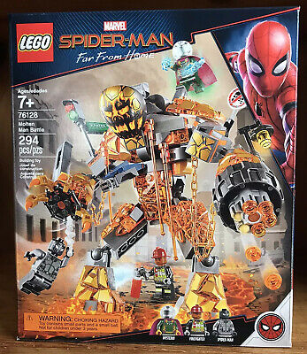 New Lego 76128 Marvel Spider-Man Far From Home Molten Man Battle 294 Pcs Sealed