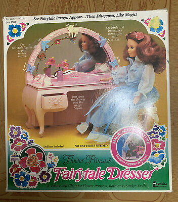 1983 CREATA FLOWER PRINCESS FAIRYTALE DRESSER #1203 FOR 11-1/2 TALL DOLLS