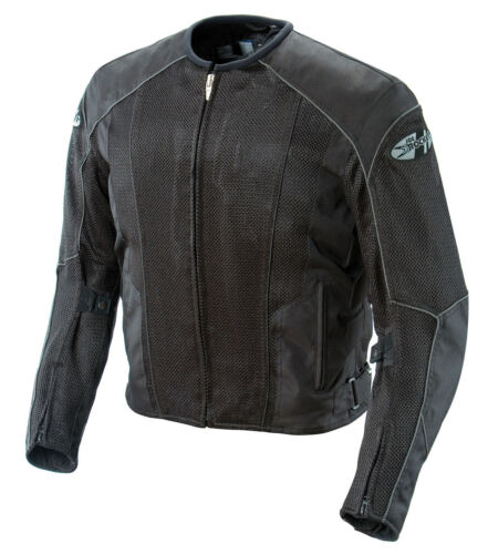 *Fast Shipping* JOE ROCKET Phoenix 5.0 (Blk/Blk) Mesh Jacket Motorcycle Black