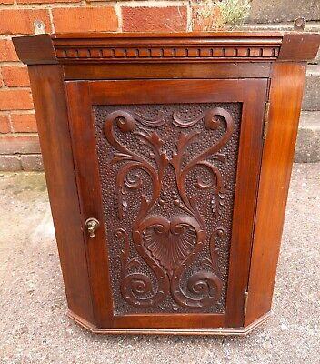 Decorative Victorian Mahogany Corner Cabinet