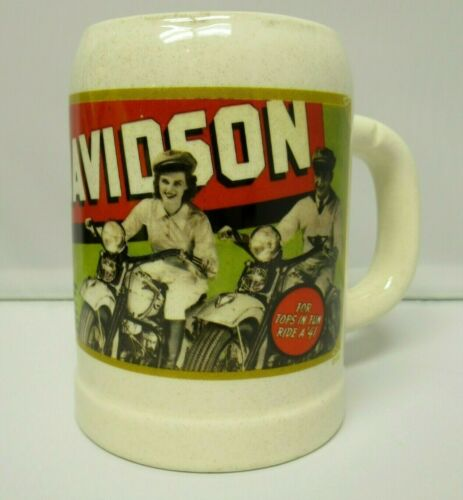 Harley-Davidson Motorcycle Coffee Mug Cup Archive Collection