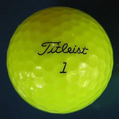 30 Titleist NXT Tour S optic yellow premium Grade AAAAA  golf balls LOT 8G112D