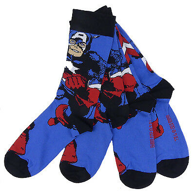 Two Pack Socks 6-11 Shoe Ideal Stocking Filler (Captain 6 Pack)