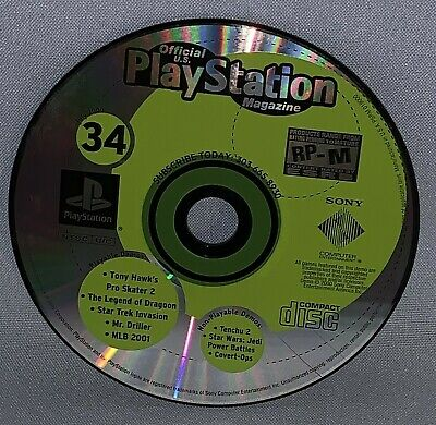 Official Playstation Magazine July 2000 Demo Disc Only #34