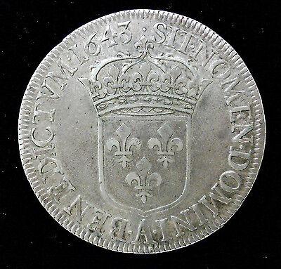 Click now to see the BUY IT NOW Price! LOUIS XIII   ECU DE 60 SOLS 1643 A PARIS