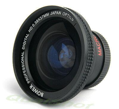 37mm Soft Fisheye Lens 0.38x For Olympus Pen E-pl2, E-pl3, E-pl5 14-42mm Lens
