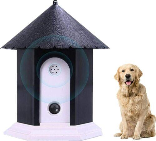 Anti Barking Control Device, Indoor Outdoor Sonic Dog Auto Trainer Bird House US