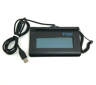 Topaz T-lbk460-bsb-r Siglite Lcd 1x5 Electronic Signature Pad Refurbished