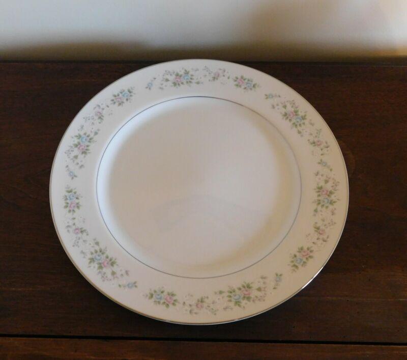 "Large Round Serving Platter / Chop Plate  CARLTON CORSAGE 481 JAPAN  12"" Flowers"