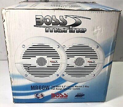 Boss Audio NIB MR60W 6 1/2