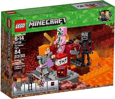 LEGO Minecraft The Nether Fight Set 21139