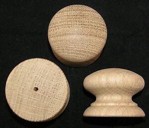 Pack-of-10-Large-Drilled-Wood-Oak-Knobs-Handles-46mm-Drawer-Knob-Handle-Wooden