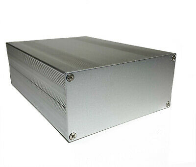 Silver Aluminum Project Box Enclosure Case 8 X 5.7 X 2.7 203x144x68mm