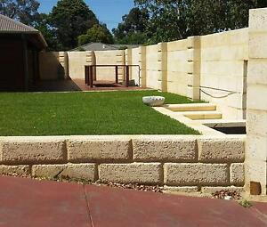 WA Limestone Constructions/ Limestone Retaining Walls/Landscaping Perth Perth City Area Preview