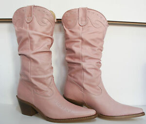Size 3 (36) Gorgeous & Sexy CARVELLA Baby Pink  REAL LEATHER
