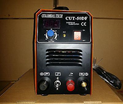 Pilot Arc Plasma Cutter Cut50df 50amp 110v And220v Dual Voltage 36 Consumables