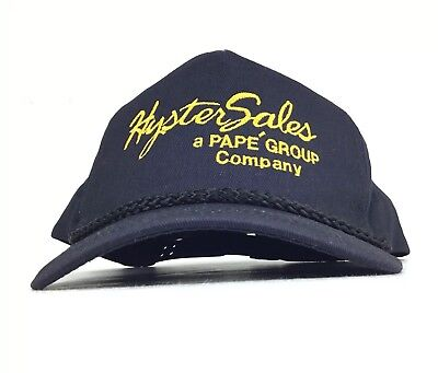 Cp Hat Sale (Hyster Sales A PAPE GROUP Company Black Baseball CP Hat SnapBack Men's)