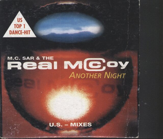 Real McCoy - Another night CD (card sleeve)