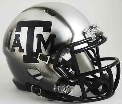 "TEXAS A&M AGGIES ""ICE EDITION"" NCAA Riddell SPEED Football Helmet"