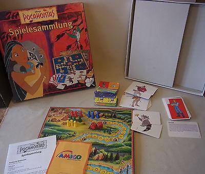 Boardgame Brettspiel Disney´s Pocahontas Spielesammlung