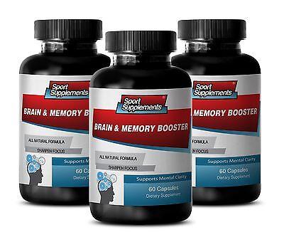 Brain Health - Brain & Memory Booster 777mg - Focus Brain...