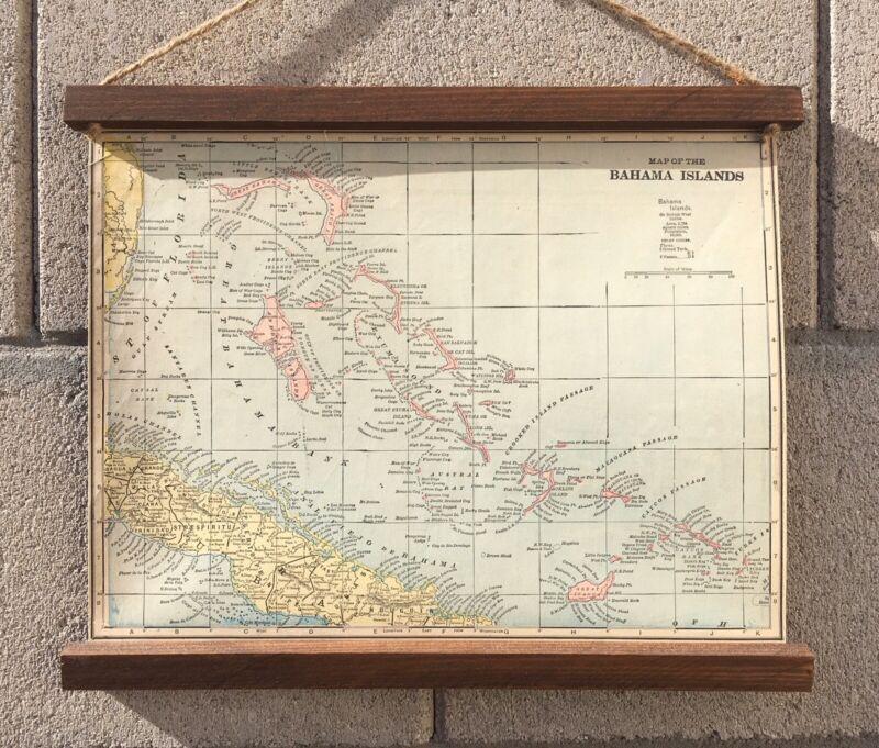 1899 Bahamas Map