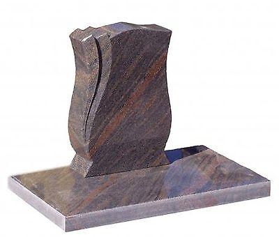 Inschrift Liegestein Schriftplatte Grabstein Gedenkstein Urnenstein Granit inkl