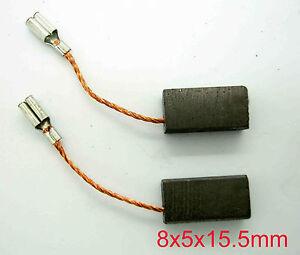 Bosch Carbon Brushes Grinder GWS 6-115 GWS 670 GWS 850 C GSC 160 5mmx 8mm BS5