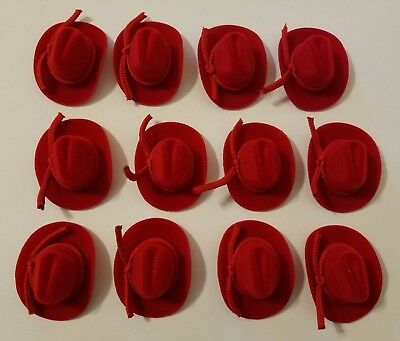 Lot of 12 Miniature Doll Red 2