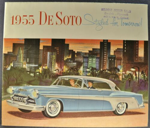 1955 DeSoto Brochure Fireflite Firedome Sportsman Wagon Excellent Original 55