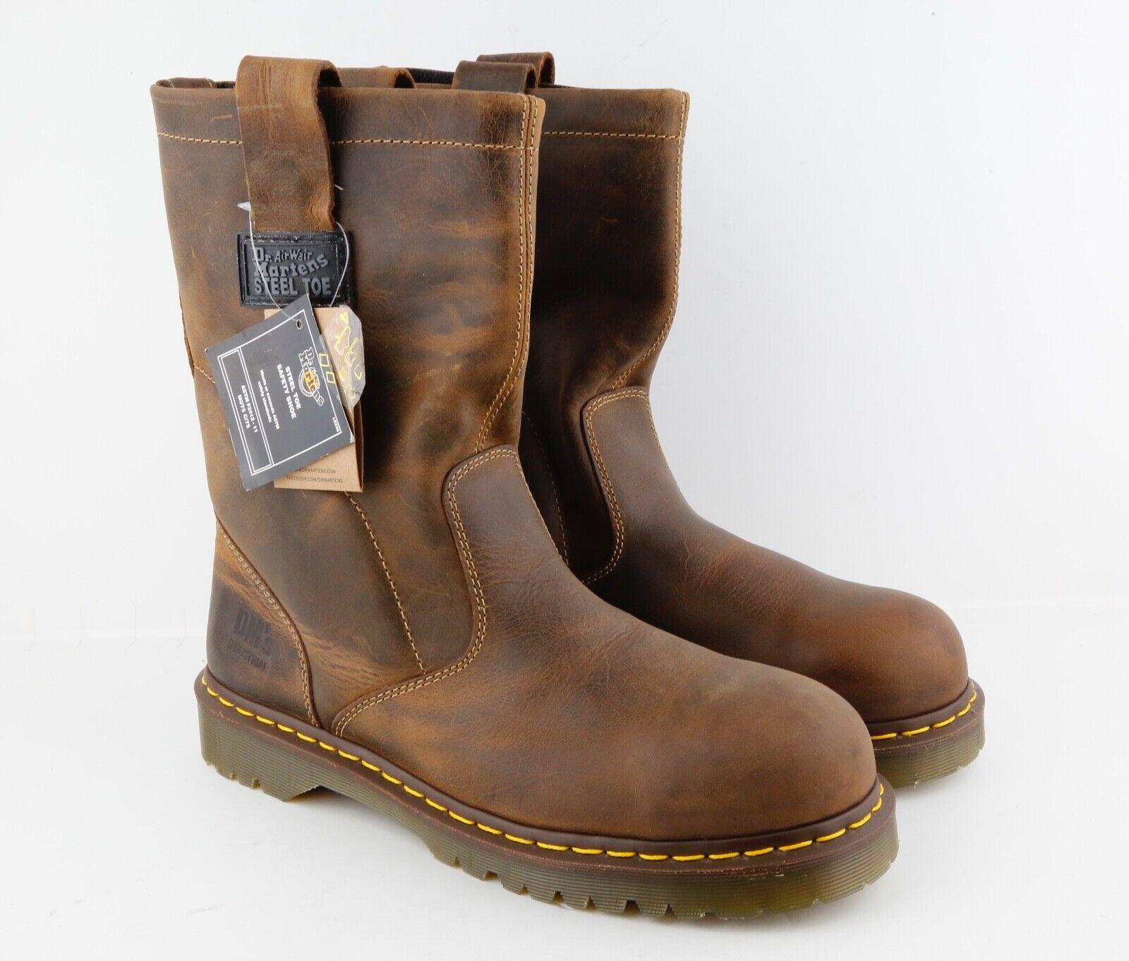 Dr.Martens R10294 Men's 2295 Industrial Boots tan Size 5 F U