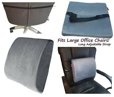 Back Foam Wheelchair - Lumbar Cushion Back Support Pillow Memory Foam Car Seat Office Chair Wheelchair