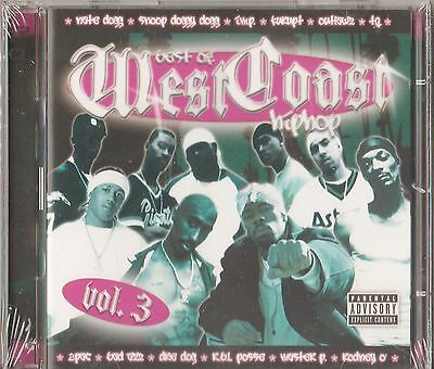 Best of West Coast Hip Hop, Vol. 3 by Various Artists (2-CD, 2006, Mob