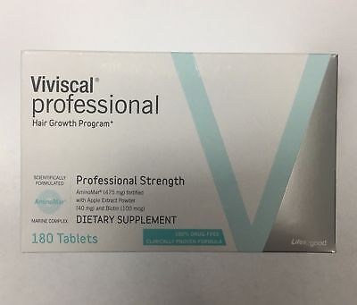 GENUINE Viviscal Professional Hair Growth 3 months supply 180 Tablets 08/2020
