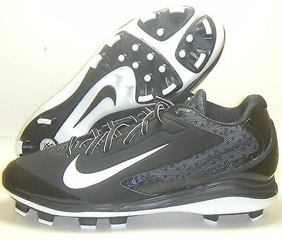 37e057cb259 New Nike Air Huarache Pro Low MCS Molded Baseball Cleats Black White Size  12.5