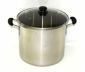 32-Qt-Quart-8-Gallon-Stainless-Steel-Stock-Pot-Vented-Glass-Lid-BA6803-Better