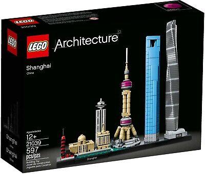 LEGO Architecture 21039 Shanghai (Brand New & Sealed)