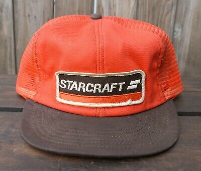Vintage Swingster USA Gemacht Truckerhut Baseball Kappe Patch Starcraft Boote - Usa Trucker Hut