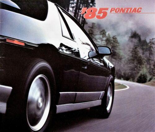 1985 Pontiac Brochure