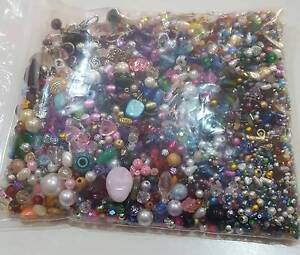 Jewellery Making - HUGE lot of Assorted Beads over 800g Calwell Tuggeranong Preview