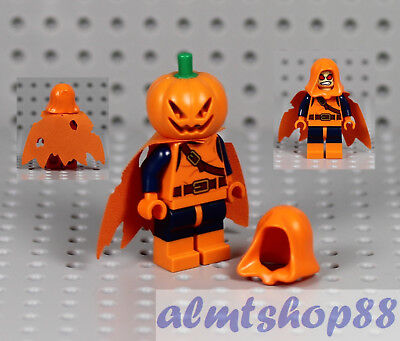 LEGO - Hobgoblin Minifigure Halloween Jack O' Lantern Pumpkin Goblin Ghost - Lego Halloween Pumpkin